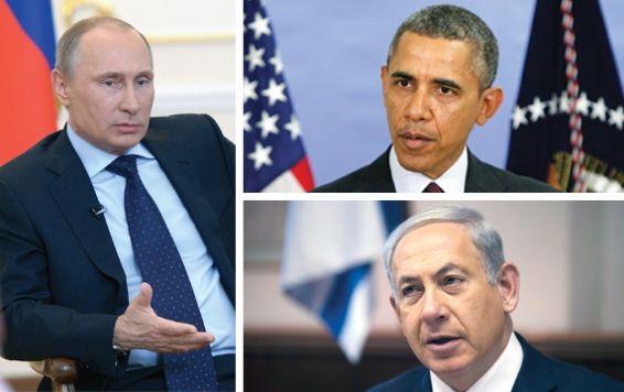 netanyahu and obama relationship with putin