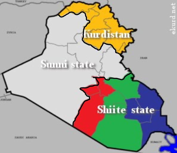 partition of iraq
